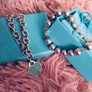 Tiffany & co silver bracelets